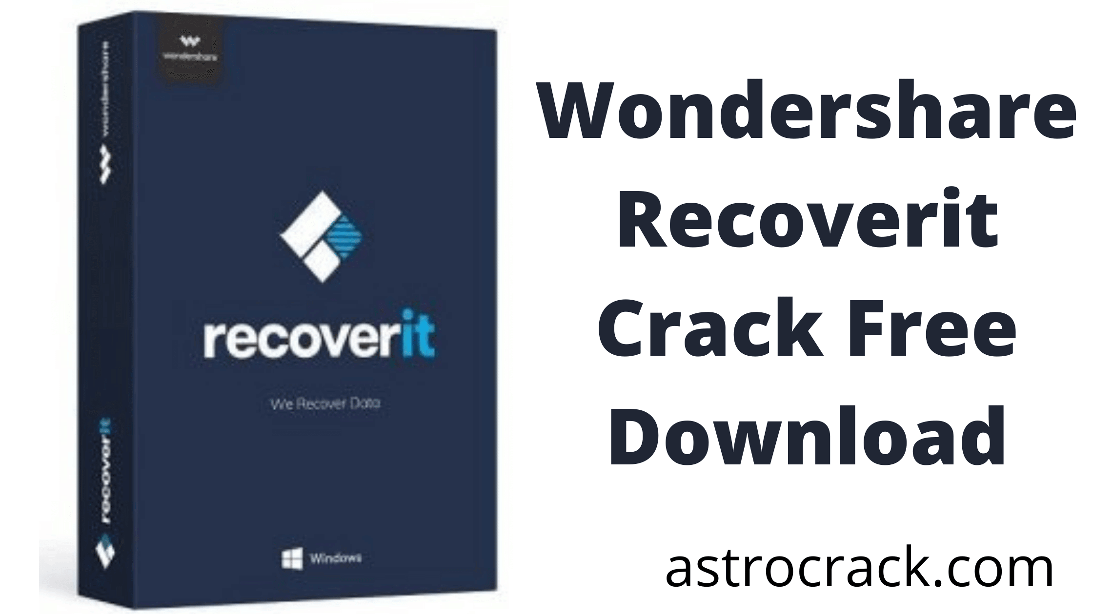 Wondershare Recoverit Crack recovers erased data that is lost and recuperates at a high misfortune rate.